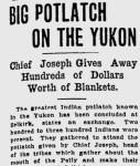 Potlach on the Yukon