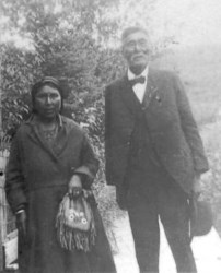 Chief Isaac and wife Eliza