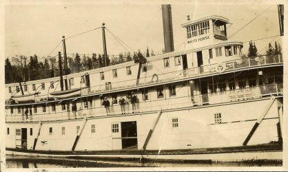 Stern Wheeler Steam Ship Whitehorse